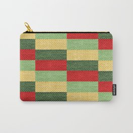 Fabric coarse texture rough red Carry-All Pouch
