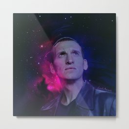 the 9th Doctor Metal Print