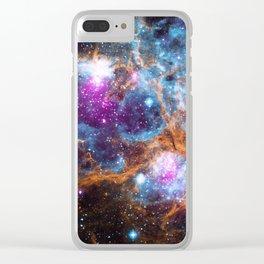 Nebula | Universe | Galaxies | Goddess | God | Stardust Clear iPhone Case