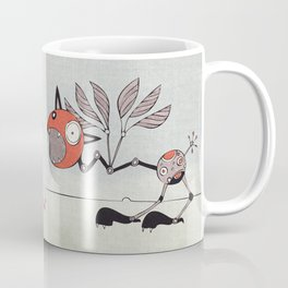 Shrieky Red Coffee Mug