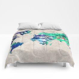 World Map 46 Comforters