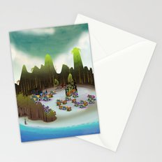 PEACEFUL LIVING Stationery Cards