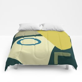 Abstract No.9 Comforters