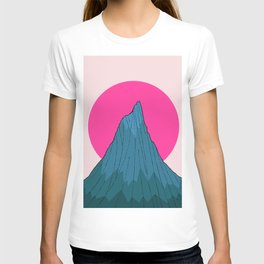 The lonely morning Peak T-shirt