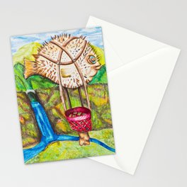 The Blowfish Adventure - Mazuir Ross Stationery Cards