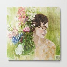 Atonement - Oil painting Metal Print