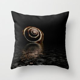 In silence... Throw Pillow