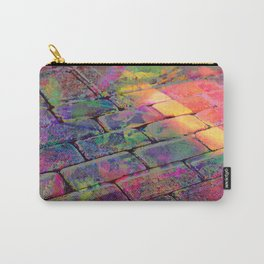 Painted Bricks Carry-All Pouch