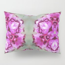 Mint Pink Prism Original Artwork by Rachael Rice Pillow Sham