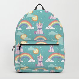 Unicorns + Rainbows Backpack
