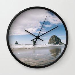 Cannon Beach VII Wall Clock
