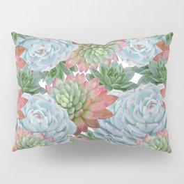Succulents Pattern #2 #GreenVibes #decor #art #society6 Pillow Sham