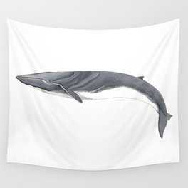 Fin whale Wall Tapestry