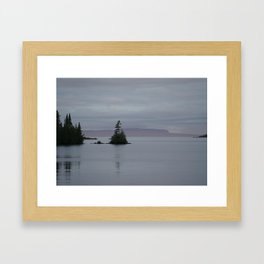 Calm Morning on Isle Royale Framed Art Print