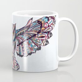 Colorful Ethnic Owl Coffee Mug