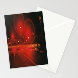 Red Lights Stationery Cards