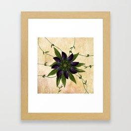 Jackmanii Framed Art Print
