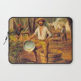 Ballarat by Eu von Guerard Date 1854  Romanticism  selfportrait Laptop Sleeve