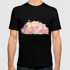 Happy New Year of the Sheep! Mens Fitted Tee Black MEDIUM