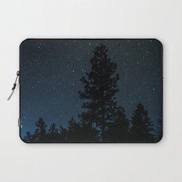 Blue Night Sky Photography Print Laptop Sleeve