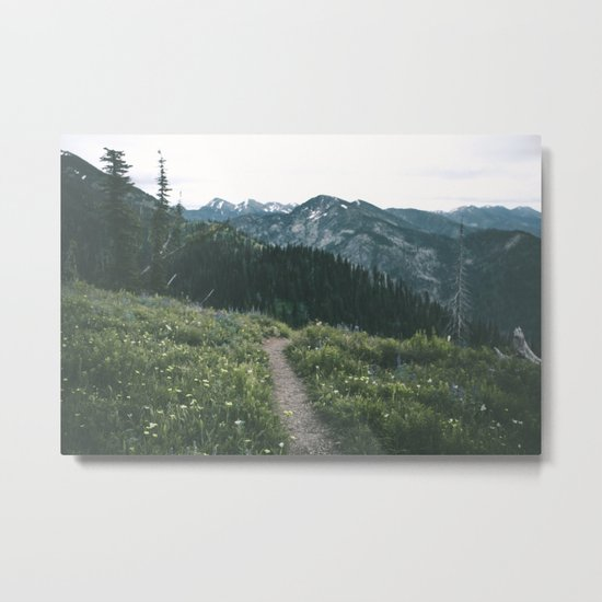 Happy Trails III Metal Print
