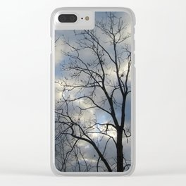 View of the sky Clear iPhone Case