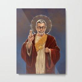 Saint Jeff of Goldblum Metal Print