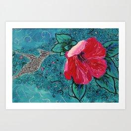 Colibri Art Print