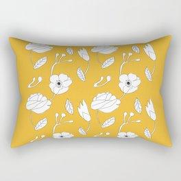 jaune Rectangular Pillow