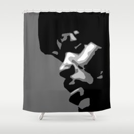 Jules pulp fiction path of the righteous man Shower Curtain
