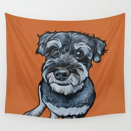 Frankie the Schnoodle Wall Tapestry