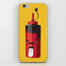 Fancy Ketchup iPhone & iPod Skin