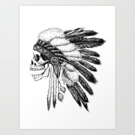 Native American Art Print