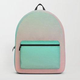HEAVY RAINS - Minimal Plain Soft Mood Color Blend Prints Backpack