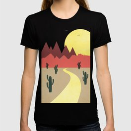 Desert and mountains T-shirt