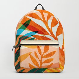 Summer Rainforest / Abstract Landscape Series Backpack