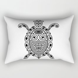 Turtle, tattoo style Rectangular Pillow
