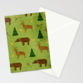 Woodland Origami Stationery Cards