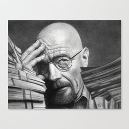 Breaking Bad Walter White Canvas Print