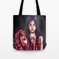 Flesh Maiden Tote Bag