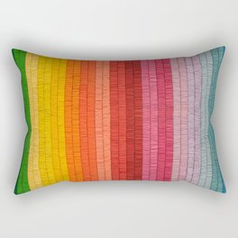 Band of Rainbows Rectangular Pillow