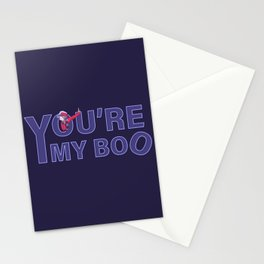 You are my boo Stationery Cards
