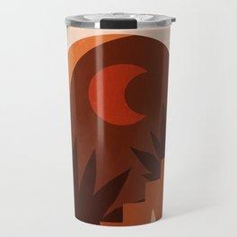 Abstraction_MOON_HOME_Minimalism_001 Travel Mug
