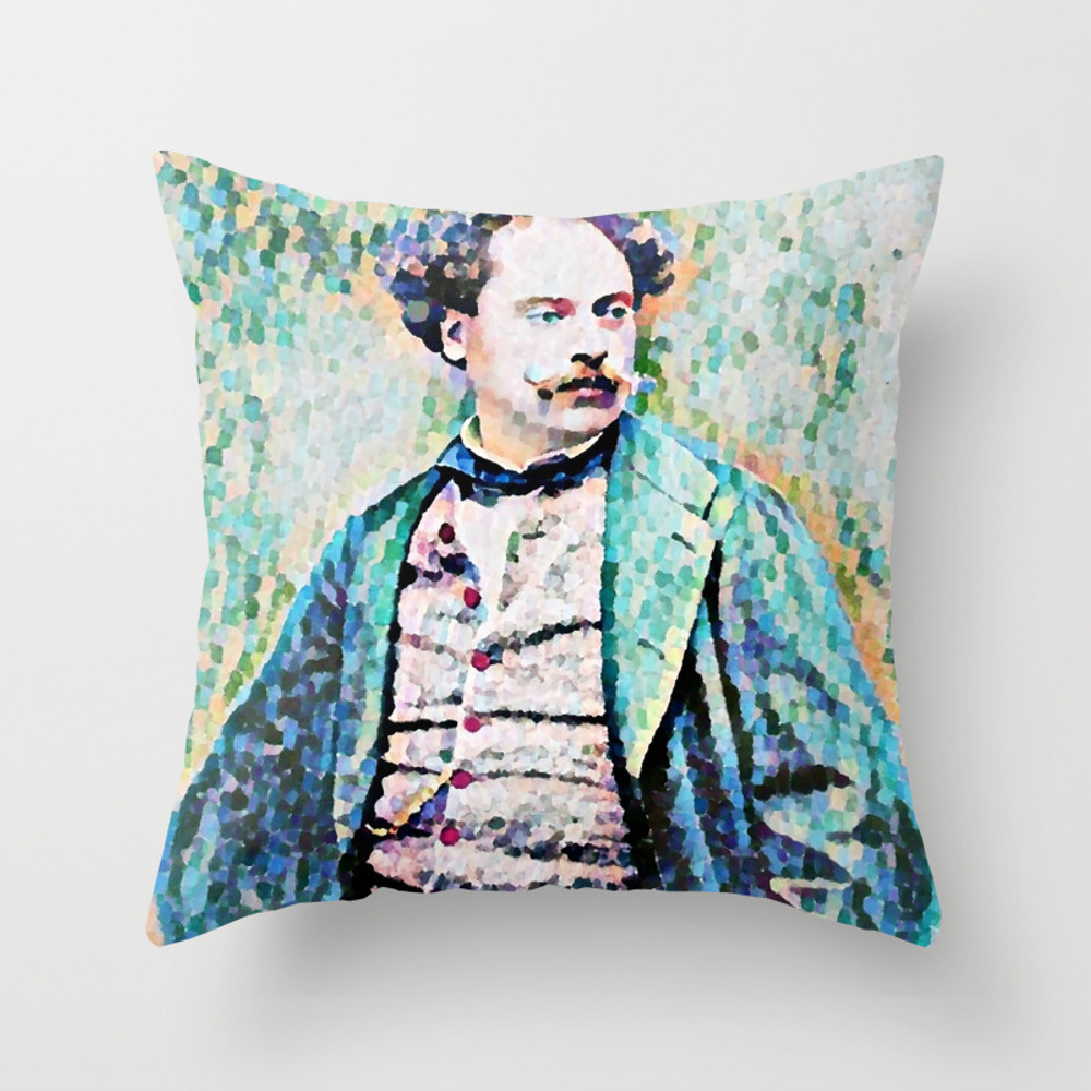 Richard Georg Strauss (1864 - 1949) (digitized Pho… Throw Pillow by Alexandra_arts PLW8723358