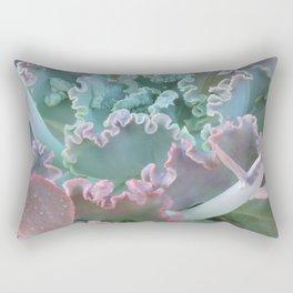 Succulent in the Sand Rectangular Pillow