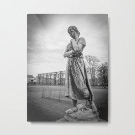 Liden Gunver by Theobald Stein Metal Print
