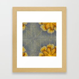 Unworminess Design Flowers  ID:16165-110353-84671 Framed Art Print