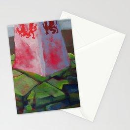 Hay Bluff Hiking Illustration Stationery Cards