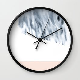 minimal ink Wall Clock