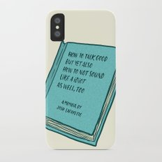 Memoir Slim Case iPhone X